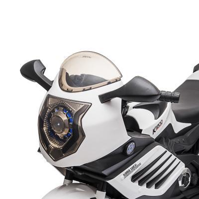 "834-020 ИГРОЛЕНД Электромотоцикл ""Супербайк"", свет, звук, 2х6V4.5AH, PP, 95x47x63см"