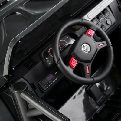 834-030 ИГРОЛЕНД Электромобиль джип полный привод, свет, звук, 12V7AH, PP, 140х70х86см