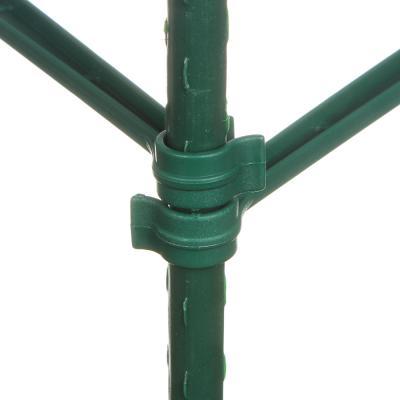 154-070 INBLOOM Опоры для растений 90см, 6 опоры d11мм*45см, 9 поперечен 30см, 3 коннектора, металл+РЕ