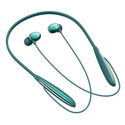 Наушники беспроводные на шею, 120мАч, прорезиненное покрытие, BT5.0-2
