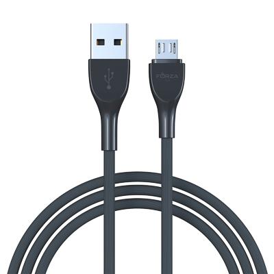 Кабель для зарядки Акварель Micro USB, 1м, 2А, 4 цвета, пакет
