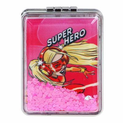 301-240 Зеркало карманное ЮниLook, 8х5,8 см, 12 дизайнов