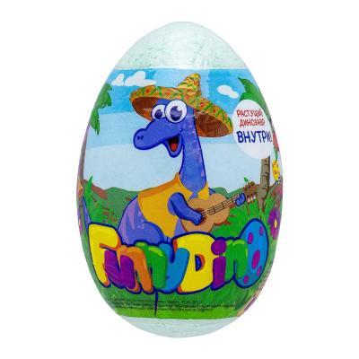 927-052 Средство шипучее для ванн My Little friends / Happy Dino с растущей игрушкой, 130г