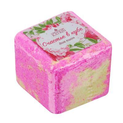 """953-014 Средство шипучее для ванн """"Счастье в кубе"""", 130г"""