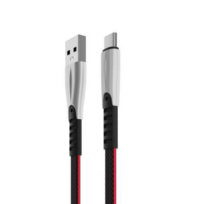 Кабель для зарядки Кобра, Type-C, 1м, 2А, пластик TPE, коробка-2