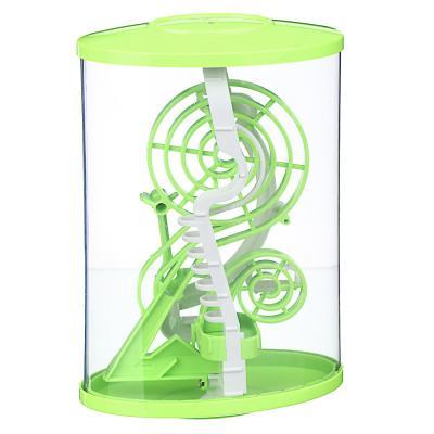 214-032 ИГРОЛЕНД Головоломка 3D лабиринт, пластик, 13х21см, 2 дизайна