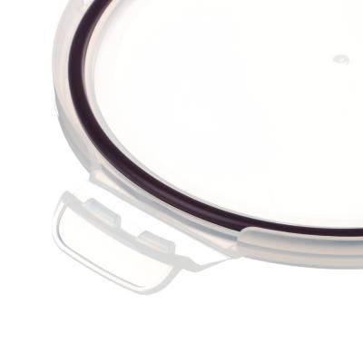 825-012 VETTA Контейнер для продуктов на защелках 950мл круглый, жаропрочное стекло