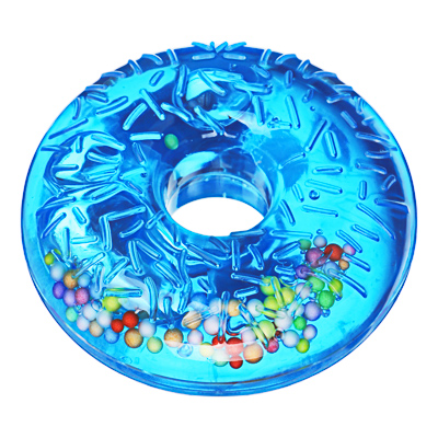 218-048 LASTIKS Слайм в виде пончика, полимер, 7,5см, 6-8 цветов