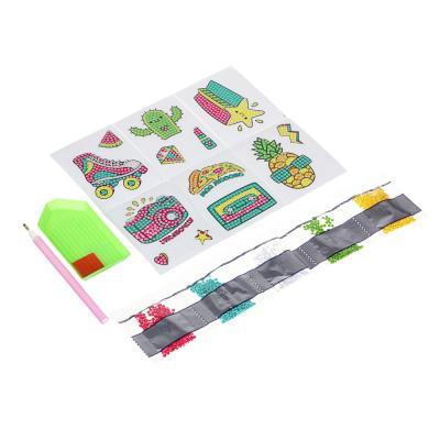 287-374 ХОББИХИТ Набор наклеек Аппликация стразами, бумага, пластик, 15x10x2,3 см, 4 дизайна