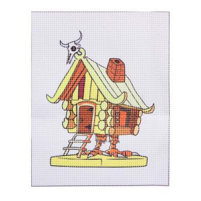 366-218 BY Набор для вышивания крестиком (канва 12x15см, нитки, игла), 6 дизайнов