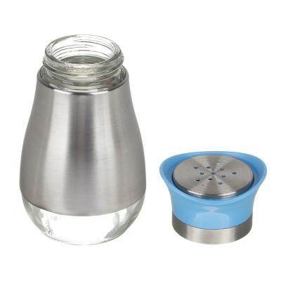 828-235 VETTA Солонка 10,5х5,2см, стекло, нерж.сталь