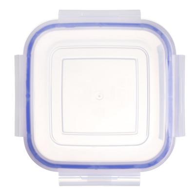 861-310 VETTA Контейнер для СВЧ пластик, квадратный с защелками, 0,45л