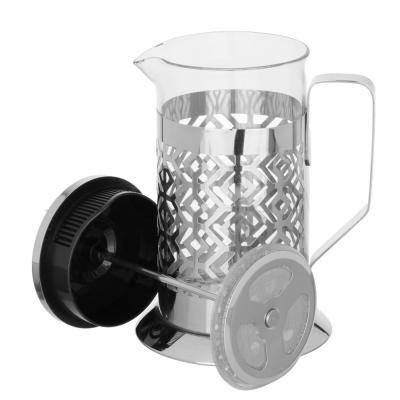 850-200 SATOSHI Гельсингфорс Френч-пресс 600мл, жаропрочное стекло, 4 дизайна
