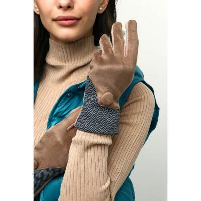 363-268 GALANTE Перчатки женские контактные, р 18-20, 3 дизайна, ОЗ21-11