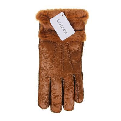 363-272 GALANTE Перчатки женские контактные, утепленные, р 19-20, 2 дизайна, ОЗ21-15