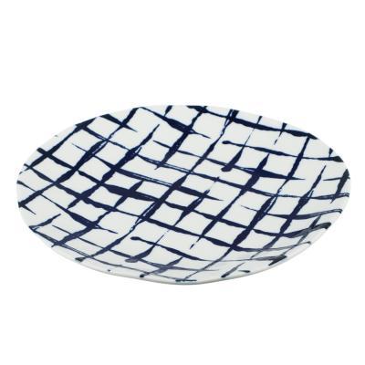 824-470 MILLIMI Индиго Тарелка десертная, 21х2см, керамика