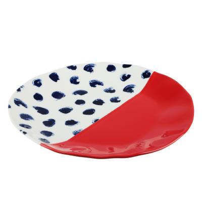 824-471 MILLIMI Индиго Тарелка подстановочная, 26х2,5см, керамика