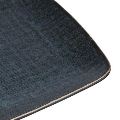 824-483 MILLIMI Блэк Джинс Блюдо прямоугольное, 27,5х18х2см, керамика