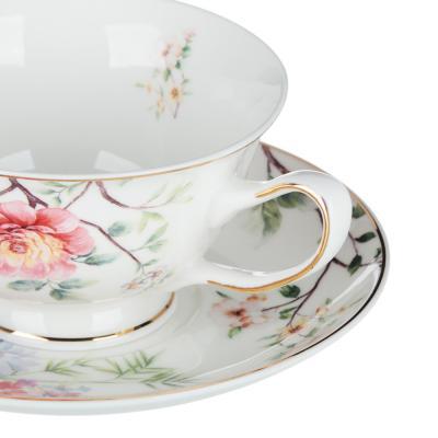 802-078 MILLIMI Настроение Набор чайный 2 пр., 220мл, 15см, костяной фарфор, 4 дизайна