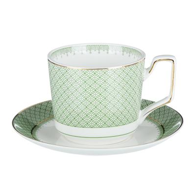 802-084 MILLIMI Арлекин Набор чайный 12 пр., 260мл, 15см, костяной фарфор