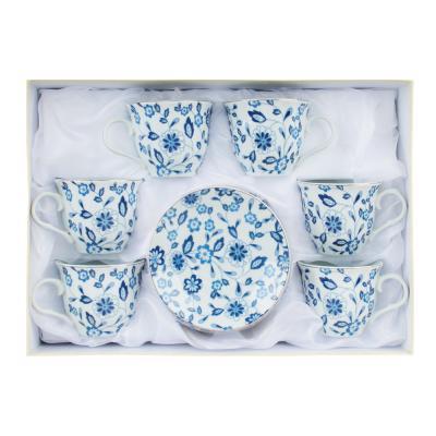 802-088 Амелия Набор чайный 12 пр., 220мл, 14см, фарфор