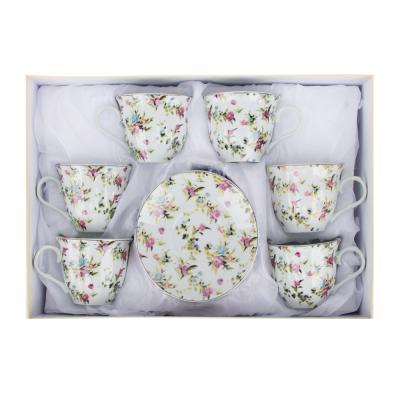 802-090 Алисия Набор чайный 12 пр., 220мл, 14см, фарфор