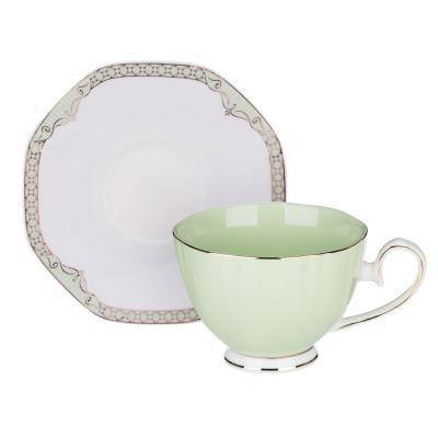 802-099 MILLIMI Мираж Набор чайный 2 пр., 260мл, 14см, костяной фарфор, 4 цвета