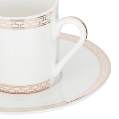 802-102 MILLIMI Ностальжи Набор кофейный 4пр., 100мл, 12,5см, костяной фарфор