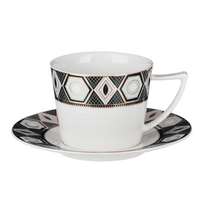 802-108 MILLIMI Артур Набор чайный 12 пр., 250мл, 15см, костяной фарфор