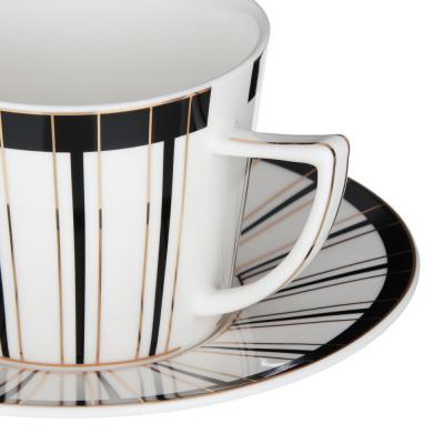 802-109 MILLIMI Король Артур Набор чайный 2 пр., 250мл, 15см, костяной фарфор, 2 дизайна