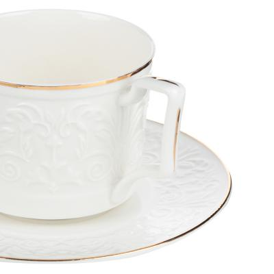 802-111 MILLIMI Да Винчи Набор чайный 14 пр., чашка 270мл, 15см, чайник 1050мл, сахарница 300мл, кост. фрф