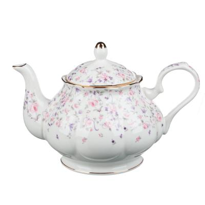 802-114 MILLIMI Грезы Набор чайный 14 пр., чашка 240мл, 15см, чайник 1250мл, сахарница 310мл, кост. фрф
