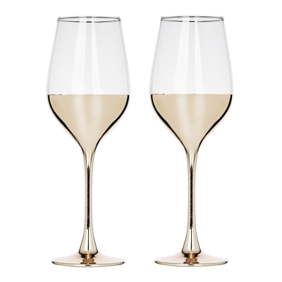 878-443 Пряничный домик Набор бокалов 2шт для вина, 350мл
