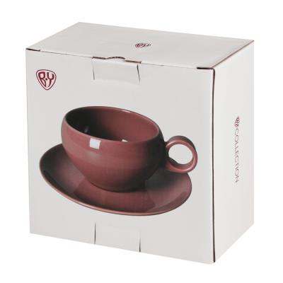 821-052 BY Сорбет Набор чайный 2пр, чашка 270мл, блюдце 15см, фарфор