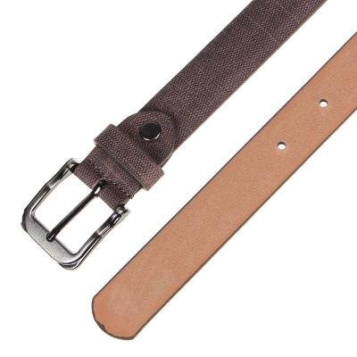 311-415 ЮL Ремень для мальчиков, ПУ, сплав, длина 80/90см, ширина 2,3см, 2 дизайна