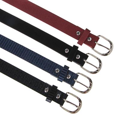 311-416 ЮL Ремень для девочек, ПУ, сплав, ширина 2,3см, длина 70/80см, 2 дизайна