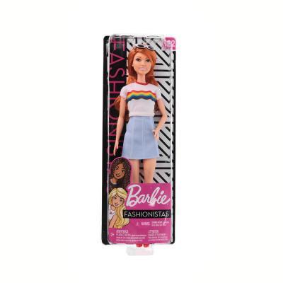 267-890 Mattel Кукла Barbie, 28 см, пластик, 4 дизайна