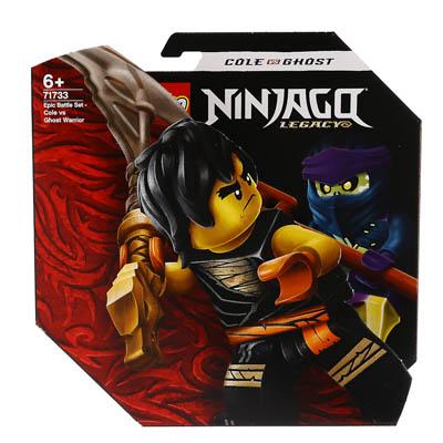 """333-275 Конструктор LEGO Ninjago """"Легендарные битвы: Коул против Призрачного воина"""""""