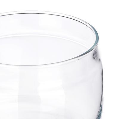 828-253 PASABAHCE Банка Cesni, 420мл, h90мм, стекло, пластик, 43002B