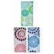"461-313 VETTA Шторка для ванной, ПЕВА, 180x180см, ""Круги на воде"", 3 цвета - 4"