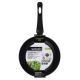 """846-014 Сковорода, антипригарное покрытие, индукция, d24 см, SATOSHI """"Графит"""" - 4"""