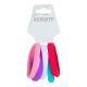 """322-024 Набор резинок для волос 5шт., полиэстер, 5 см, 10 цветов, """"Яркость"""" - 4"""