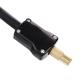 713-024 NEW GALAXY Компрессор автомобильный, крокодилы к АКБ, 2-х поршн, шланг 5м, в сумке, 12V, 300W, 85л/м