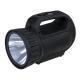 198-041 ЧИНГИСХАН Фонарь прожектор аккумуляторный18 SMD + 1 Вт LED, шнур 220В, резинопластик, 18x11 см - 5
