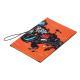 334-061 PAVO Обложка для паспорта с удерживающей резинкой, с отд. для вод.удостов, ПВХ, 13,7х9,6см, 6диз - 4