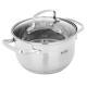 """822-100 Кастрюля, 2,6л, со стеклянной крышкой, индукция, VETTA """"Берн"""""""