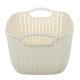 406-125 Корзинка вязаная, пластик, 29х22х17 см, 4 цвета, VETTA