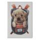 334-098 PAVO Обложка для паспорта с отд.для карт, ПВХ, 13,7х9,6см, 2-6 дизайнов, DC2018-2 - 6
