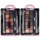 330-265 Тени для век 12-ти цветные ЮниLook, 14 г, 2 тона - 8