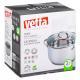 822-136 Кастрюля 2,7 л VETTA Бирмингем, со стеклянной крышкой, индукция - 3